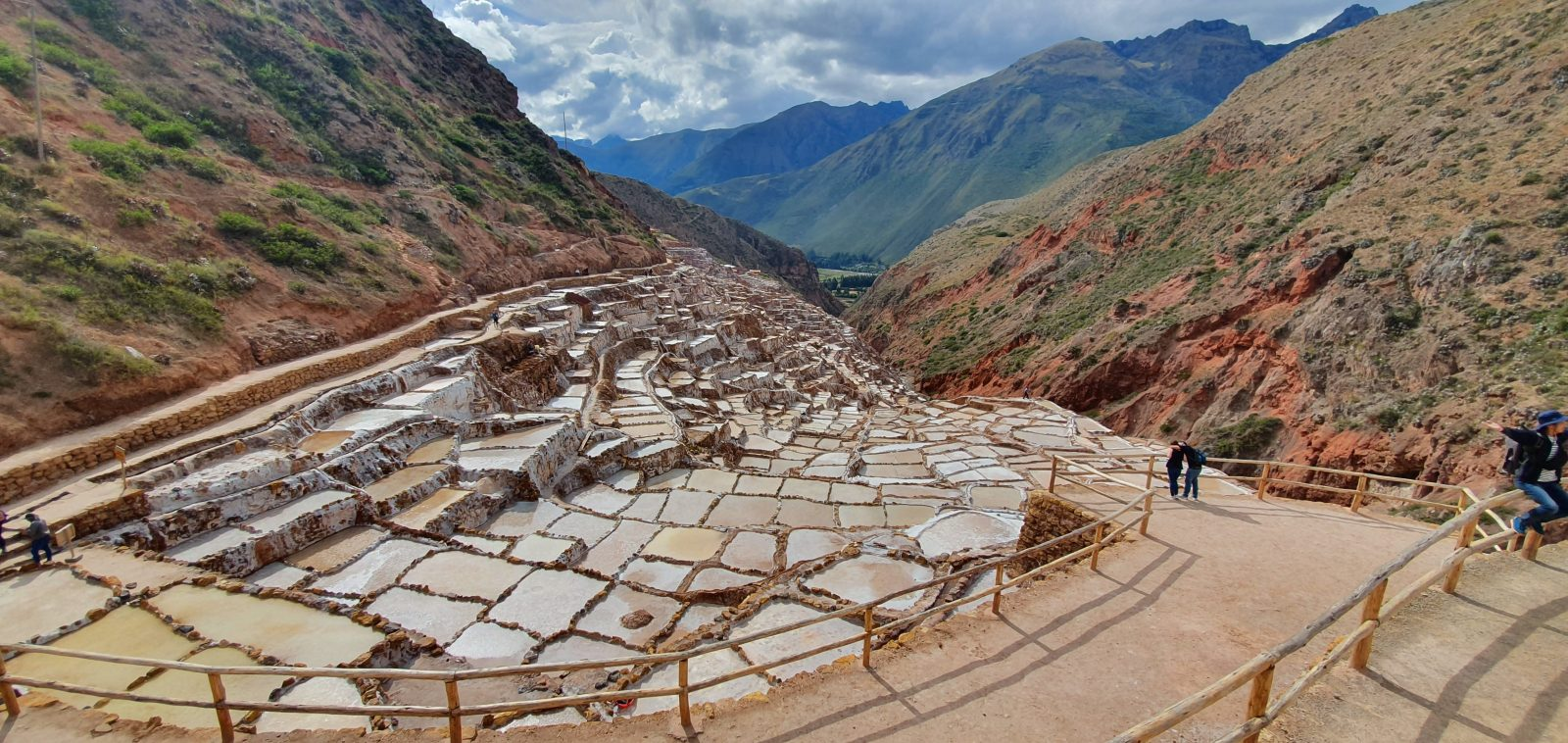 Picture of the Mara Salt Mines